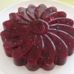 Ягодно-ореховый торт из агар-агара