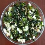 Рецепты салатов из морских водорослей
